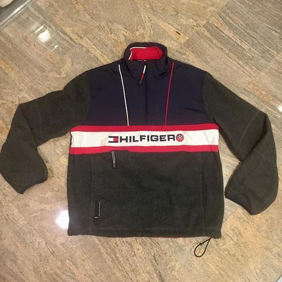 Vintage Tommy Hilfiger Coldstop 1/4 Zip Fleece